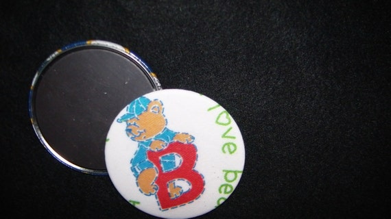 """B is for Bear 3"""" Refrigerator Magnet"""