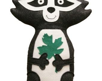 Raccoon Handmade Huggable- Made to Order- Teetoo