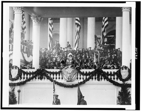 Digital Print, Washington DC, Inauguration, Presidents, Alien, Vilnar, black and white, presidential seal, alternate histories, geekery