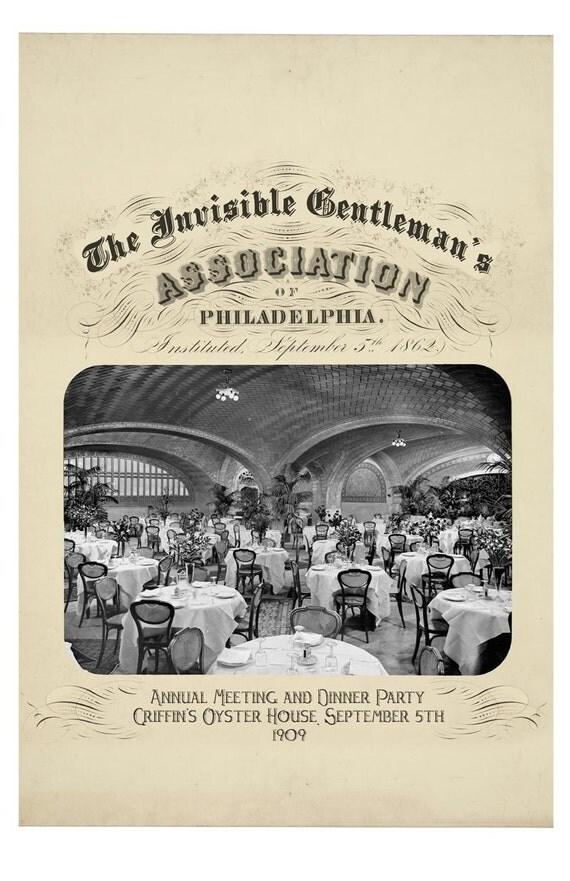 Invisible Man, Digital Print, Philadelphia Art, HG Wells, Wall Art, vintage photo, Geekery, Alternate Histories