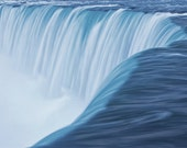 Niagara Horseshoe Falls Close up view from the Canadian Side in Niagara Ontario Canada No.85 - A Nature Fine Art Landscape Photograph