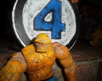 Fantastic Four wooden sign