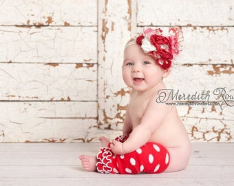 """The """"Scarlette"""" Silk Bow made to match Serendipity by Matilda Jane"""