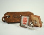 Vintage Canadian Stamp Cufflinks - Vintage Postage Stamp Cufflinks - Vintage Canadian House on Fire Cufflink