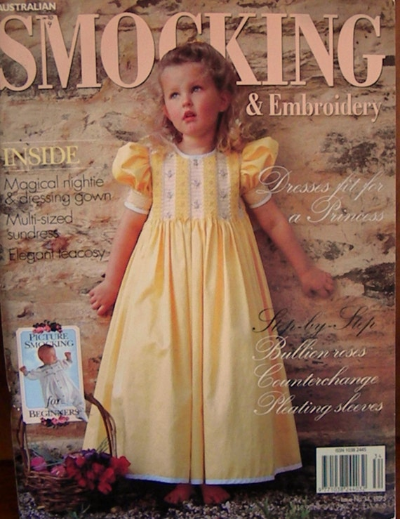 Australian smocking and emboidery issue