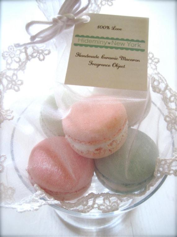 New Set - Sweet Interior Ceramic Macaron Sachet-Fragrance Object