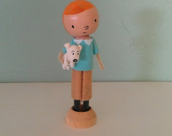 Tin Tin and Snowy - MADE TO ORDER