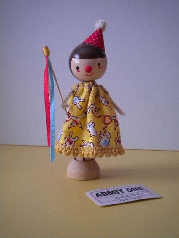 Circus Doll - MADE TO ORDER