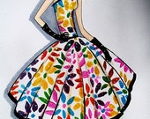Glitter Girl Garden Party - Limited Edition Print -