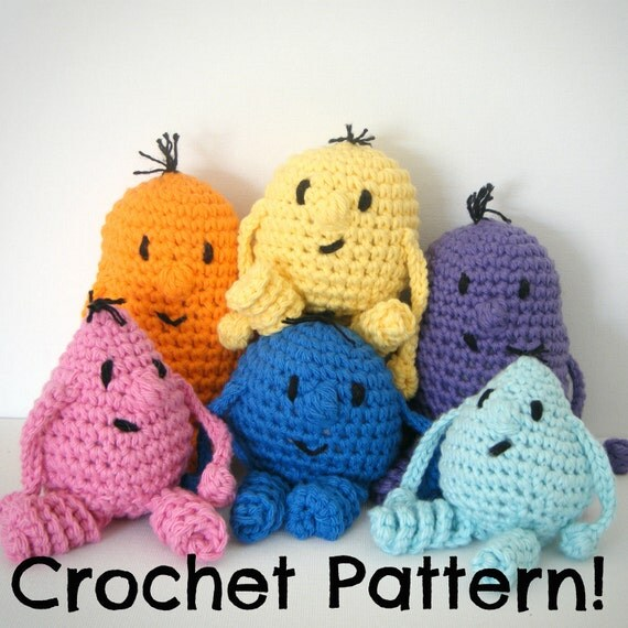 Amigurumi Toy Monster PDF Crochet Pattern INSTANT DOWNLOAD