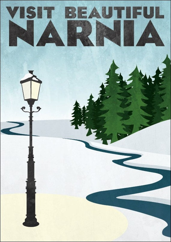 "Travel Poster - Narnia (large - 18 x 24"" or A2)"