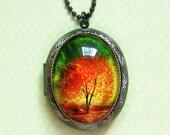 Twilight -- Wearable Art Locket