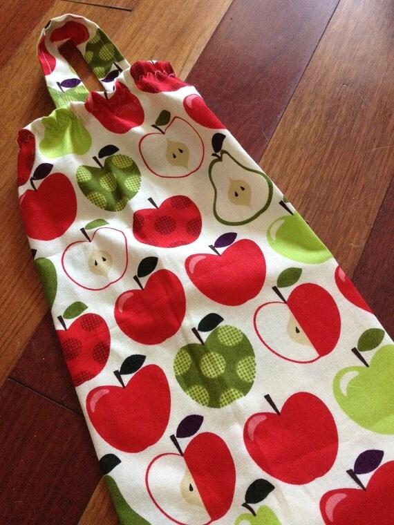 Plastic Bag Holder and Dispenser - Apples & Pears by  Timeless Treasures