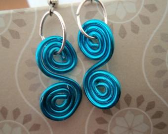 Mediterranean Blue Earrings
