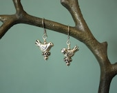 Little Birdies Told Me - Thai Silver Earrings