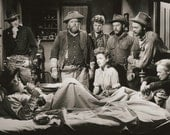 Vintage Movie Still Photo Print - Gregory Peck - Yellow Sky - Photo - Anne Baxter - Richard Widmark - Harry Morgan -  8 x 10