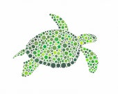 Shelby Sea Turtle, 8 x 10 inch Limited Edition Print of Original Watercolour