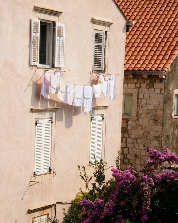 Laundry Room Decor Dubrovnik Morning Photograph by VitaNostra