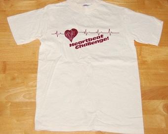 Heartbeat Challenge Vintage T-Shirt - S