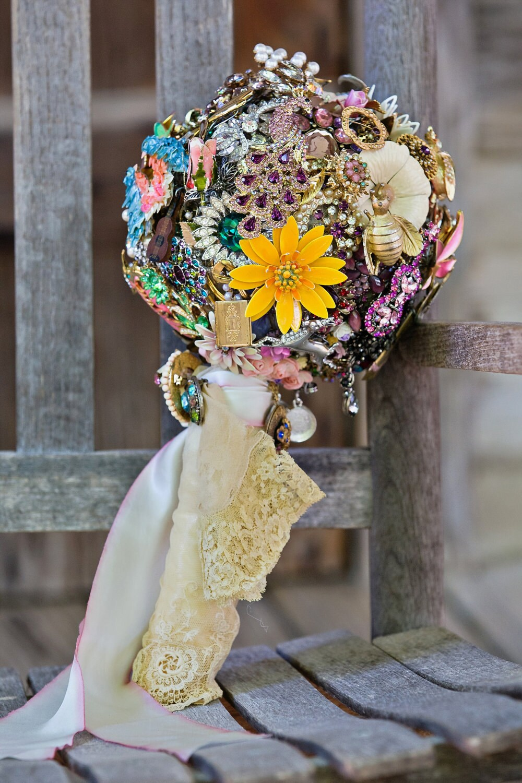 Custom Miranda Lambert Vintage Jewelry Bouquet Featured in