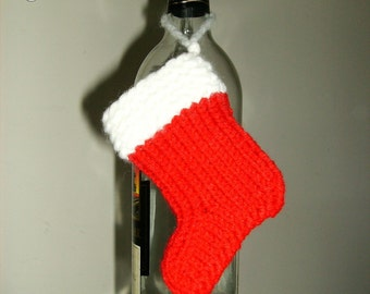 Santa stocking gift card holder (set of 3)