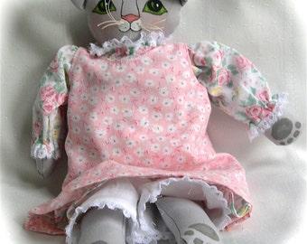 Pretty Kitty Cloth Doll Kandace