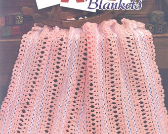 Crochet BEAUTIFUL BABY BLANKETS 7 Quick and Easy Baby Afghans