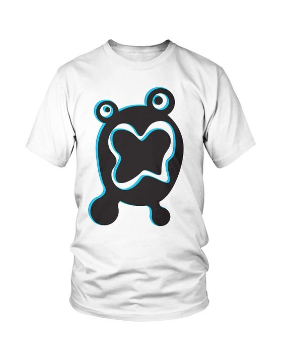 Funny Blue Monster Toddler Tee - T Shirt Children Kids Graphic T-Shirt Toddler Clothing- Size 2T