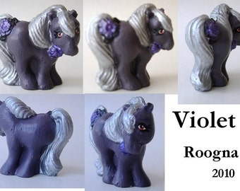 Custom My Little Pony Petite Violet