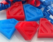 25 SUPERHERO BULK SOAPS - Superhero Party Favor, Superhero Birthday Party Favor - Superhero Baby Shower Favor, Comic Book Hero (Soaps Only)