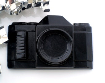 10 CAMERA SOAP FAVORS - Camera Party Favor, Camera Birthday Party Favor - Camera Wedding Favor, Glamour, Rock N Roll (Favor Tags Included)