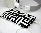 iPhone 6 Case Fabric, iPhone 6 Plus Case, iPod Case, iPod Touch Case, iPhone Sleeve, Cell Phone Case, MAZE Japanese Cotton