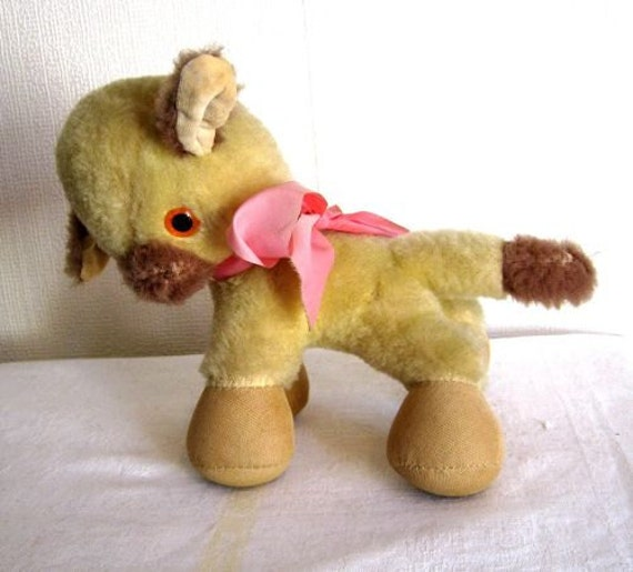 Merrythought 1970's Toy Vintage Lamb