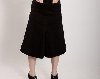 Vintage 1980s JAG black A-Line skirt