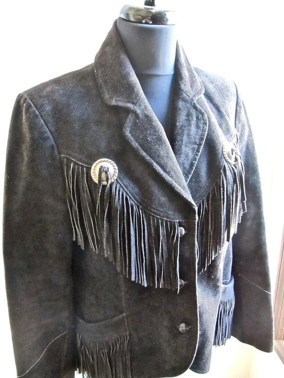 Find black suede fringe jacket at ShopStyle. Shop the latest collection of black suede fringe jacket from the most popular stores - all in one place.