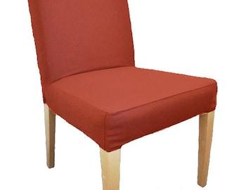 Slipcover For Ikea Henriksdal Dining Chair In Crimson