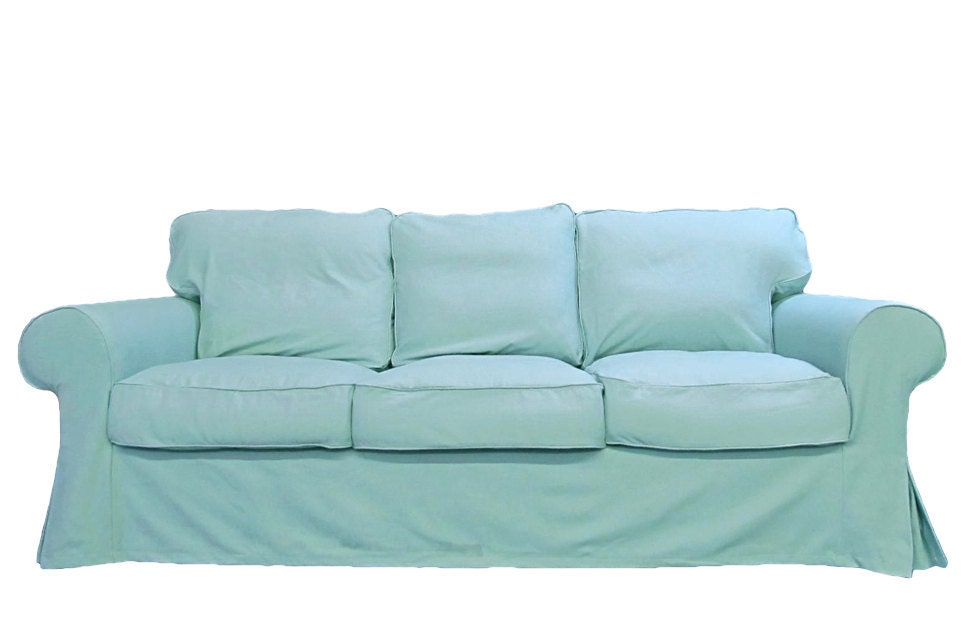 Custom Ikea Ektorp 3 Seater Sofa Slipcover In By Freshknesting