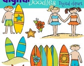 KPM Surfs UP digital clipart