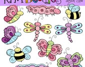 INSTANT DOWNLOAD Pastel Bugaloo Digital Clip art