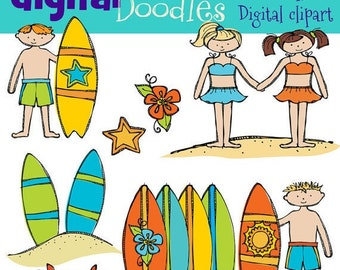 KPM Surfs UP digital clipart