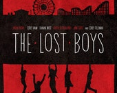 The Lost Boys - Minimal Style 12x16 Vampires Print