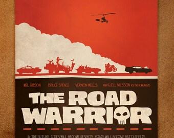 The Road Warrior - 12x16 Minimal Print