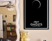 Army of Ghosts // Doctor Who Poster // 11x17 Minimalist Geek Art Print