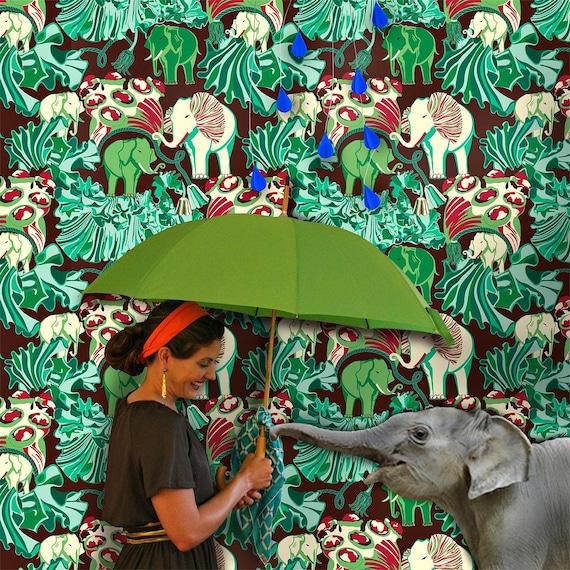 Wallpaper in African Cuff Pattern 5 colorways
