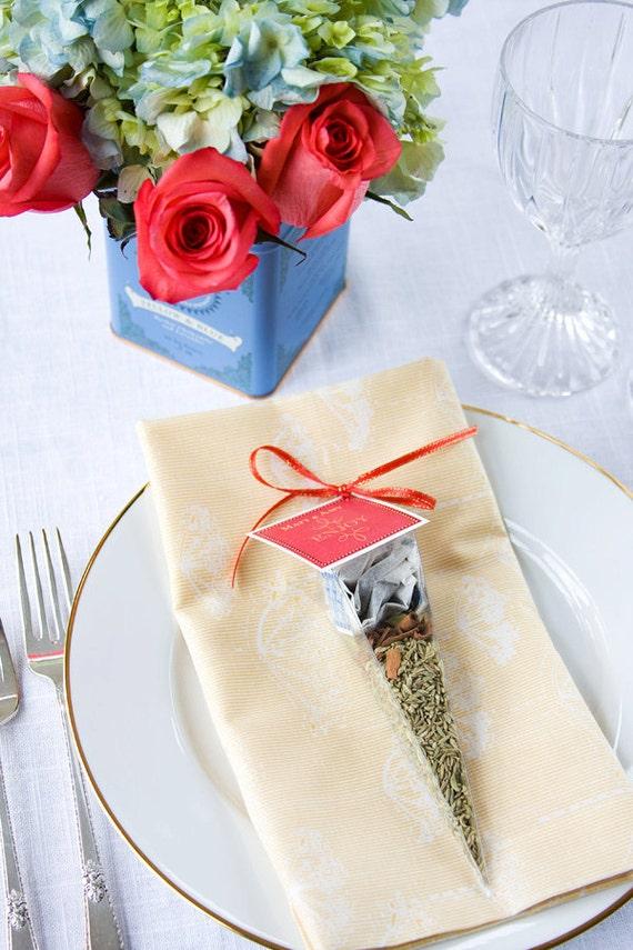 Unique Wedding Party Gifts : Tea party favors - unique wedding favor - bridal tea favors, baby ...