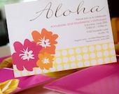 Luau Birthday Party PRINTABLE Invitation - anna and blue paperie