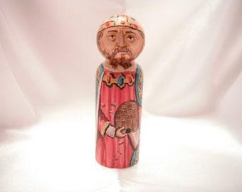 Saint Ambrose - Catholic Saint Doll - made to order