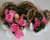 SALE - Valentine's Day Floral Arrangement - Victorian Lady of the Roses