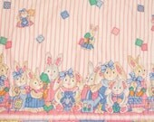 SALE - Easter Wall Hanging - Bunnies, Bunnies, and More Bunnies