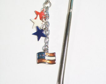 SALE - Bookmark - Proud To Be An American - Shepherd Hook Bookmark